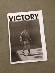 PRESS: Jerome Liebling's Photographs of Handball Players Featured on the Cover of the Fall Issue of Victory Journal
