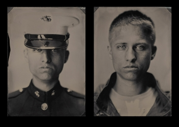 "EXHIBITION: Melissa Cacciola's ""War and Peace"" on view at the Nation Museum of the Marine Corps"