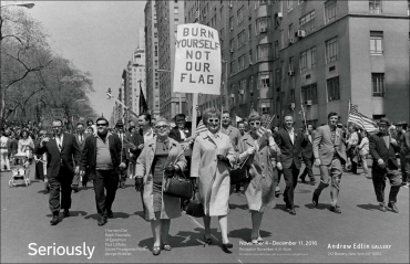 "Exhibition: Jill Freedman in ""Seriously"" at Andrew Edlin Gallery"