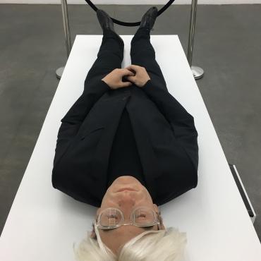 Eugenio Merino's Lifelike Andy Warhol Piece is Haunting