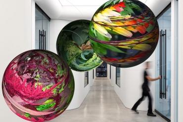 Artists Shuli Sadé and Richard Humann present works on new augmented reality fine art platform Aery