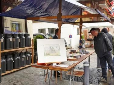 Brocante & Marché / Open Air Market: Saanen, 2015