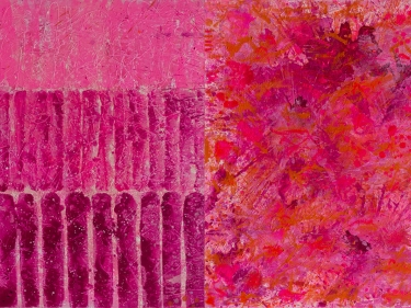 J. Steven Manolis, Flamingo Series, Abstract Expressionism Paintings for sale at Manolis Projects Art Gallery, Miami Fl