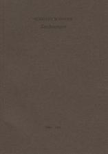 Albrecht Schnider: Zeichnungen, 1989-1991