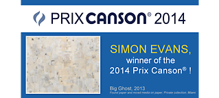 Simon Evans Wins The Prix Canson 2014