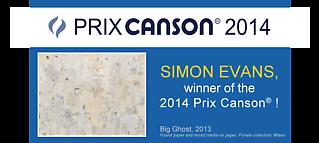Simon Evans Wins The Prix Canson 2014