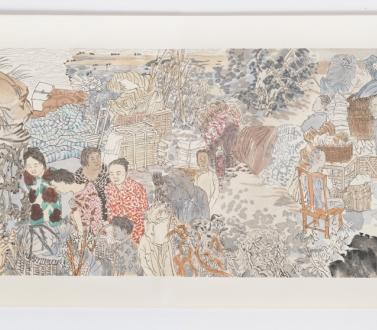 Yun-Fei Ji at 18th Biennale of Sydney