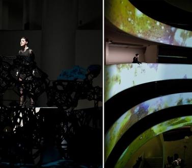 Matthew Ritchie at the Solomon R. Guggenheim Museum
