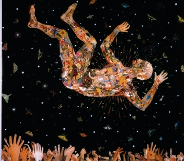 Fred Tomaselli at The Fruitmarket Gallery