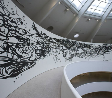 Matthew Ritchie at the Solomon R. Guggenheim Museum