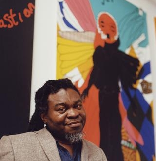 Yinka Shonibare in conversation with Kobena Mercer at Yale University