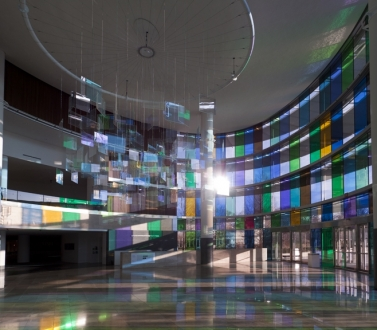 Spencer Finch at the Indianapolis Museum of Art