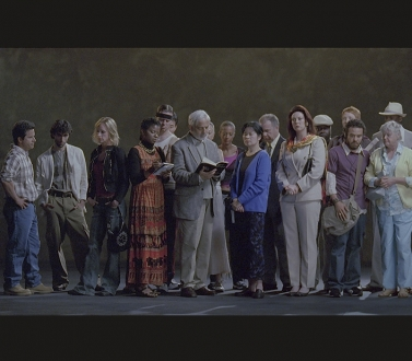 Bill Viola at the National Portrait Gallery