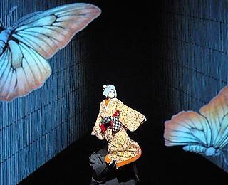 Tabaimo with Hiroshi Sugimoto's Bunraku Puppet Theater