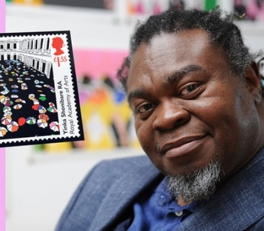 Yinka Shonibare MBE releases UK stamp to commemorate the 250th anniversary of the Royal Academy of Art
