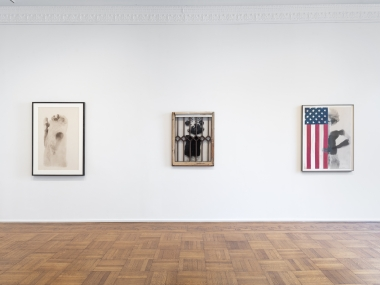 Unseen Works: David Hammons and Friends  Installation View