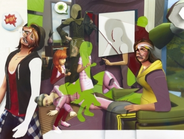 Pieter Schoolwerth: Shifted Sims
