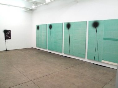 Wade Guyton and Stephen Prina