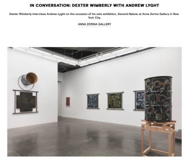 In conversation: Dexter Wimberly with Andrew Lyght
