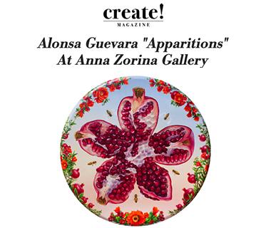 """Alonsa Guevara """"Apparitions"""" at Anna Zorina Gallery"""