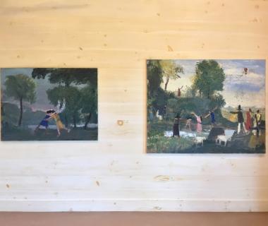 John Bradford Exhibition Opened at Claryville Art Center