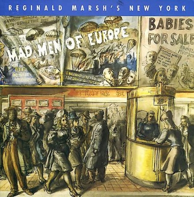 Reginald Marsh's New York