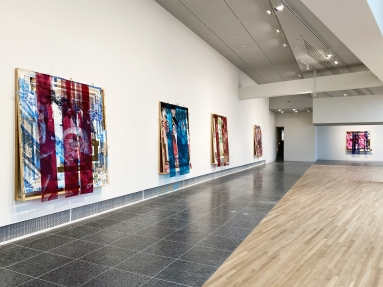 """Tomashi Jackson exhibition """"Love Rollercoaster"""" at the Wexner Center for the Arts in Columbus, Ohio"""