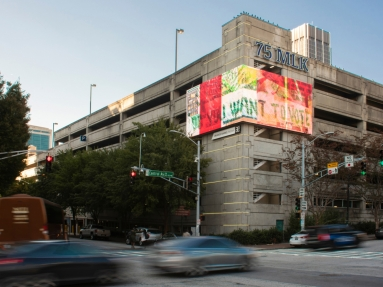 Artists Encourage Voting with New Billboards