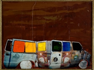 "Brenna Youngblood ""Color Checker"" 2008"