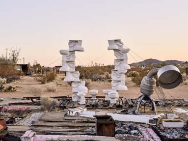 Noah Purifoy in the Los Angeles Times