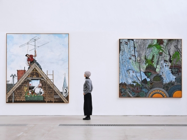 Zachary Armstrong: The Ancient Technique of Encaustic at Faurschou Beijing