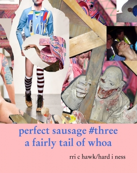 Richard Hawkins: perfect sauage #three: a fairly tail of whoa