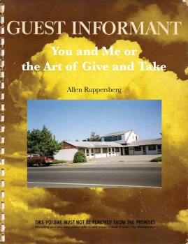 Allen Ruppersberg: You and Me or The Art of Give and Take