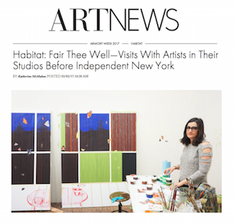 Nikki Maloof in ARTnews