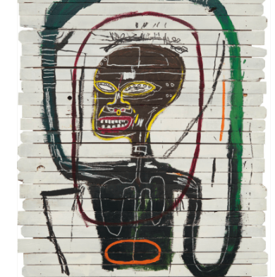 Basquiat's iconic Flexible, 1984 sold at auction in May at Phillips for $45 million: