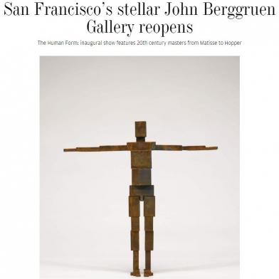 San Francisco's stellar John Berggruen Gallery reopens
