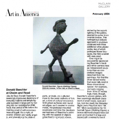 February 2005 Art in America