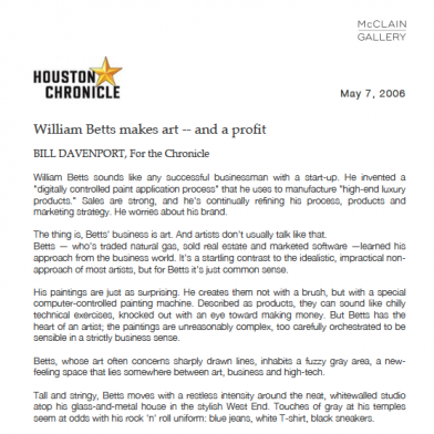 May 2006 Houston Chronicle