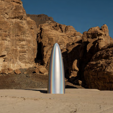 Art Rises in the Saudi Desert, Shadowed by Politics