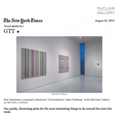 August 2013 The New York Times
