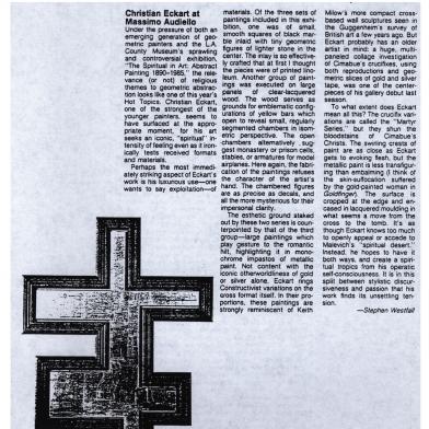 February 1987 Art in America