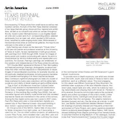 June 2009 Art in America