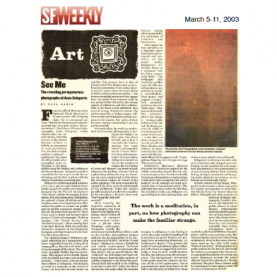 March 2003 SF Weekly