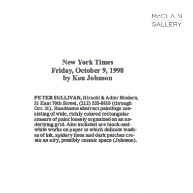October 1998 The New York Times