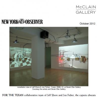 October 2012 New York Observer