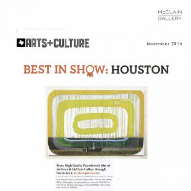 November 2014 Arts and Culture