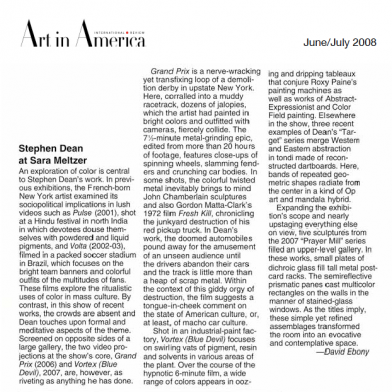 June 2008 Art in America