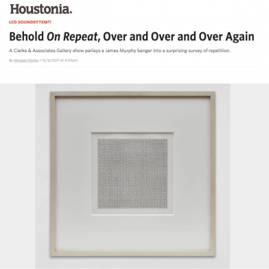 October 2017 Houstonia Review