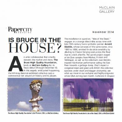 November 2014 Papercity Magazine