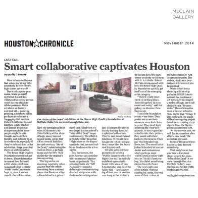 November 2014 Houston Chronicle
